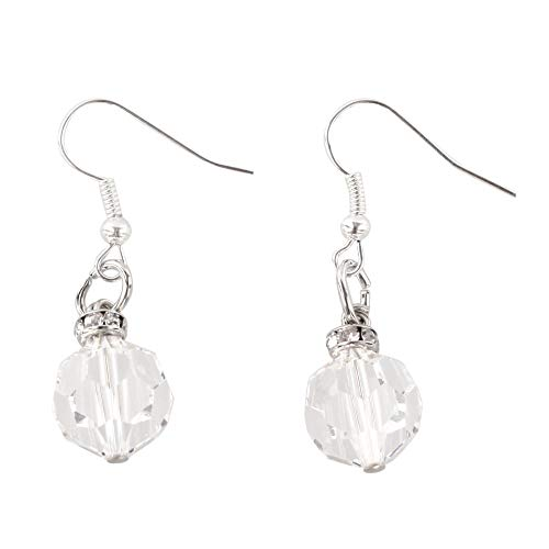 Kristallohrringe Strasssteine Kristall crystal earrings big crystal pendant