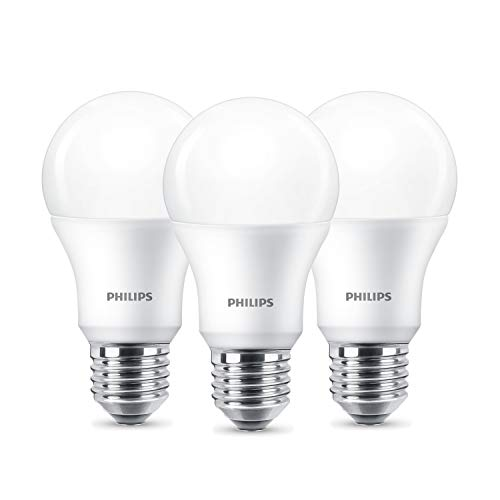 Philips Standardform 9W Warmweiß Kelvin 806 Lumen 3er