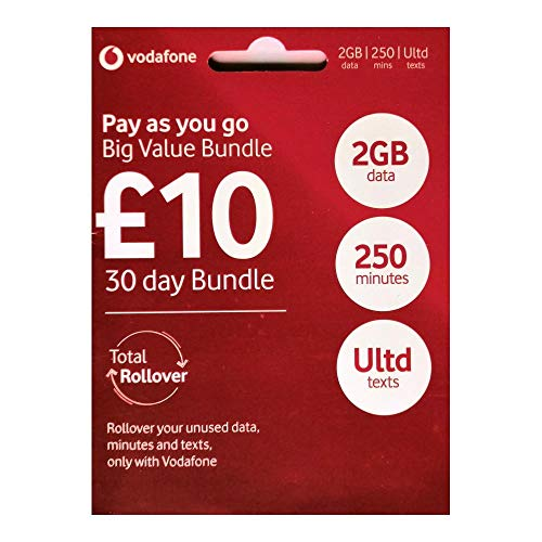 Vodafone 4G Ultimate GROßE Wert Set Starter Triple     Enthält Mikro Standard   UNBEGRENZTE ANRUFE SMS DATEN für IPHONE 4 4S 5 5C 5S 6 6S 6 Ipad 2 3 4 5 Luft Air2 Air5 GALAXY S2 S3 S4 S5 S6 S6 Edge GALAXY TAB NOTIZEN 2 3 4 5  VE