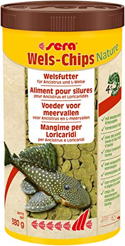 sera Wels Chips Nature 1.000