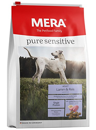 Mera Dog Hundefutter Pure Sensitive Lamm und Reis 12.5 kg
