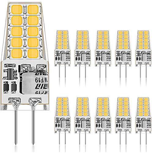 Ambother G4 Led Lampen 3W Led Birnen Ersetzt 35W Halogenlampen Warmweiß 12V A