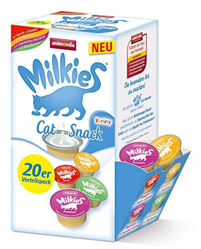 animonda Milkies Mix Variety Katzenmilch portioniert 4 x 20 Cups 15 g