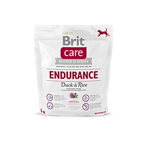 Brit 1kg Care Endurance Duck Rice Activity Hundefutter für aktive Hunde