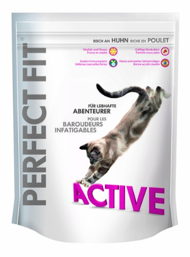 Perfect Fit Cat Trocken Active reich an Huhn 2er Pack 2 x 190 g