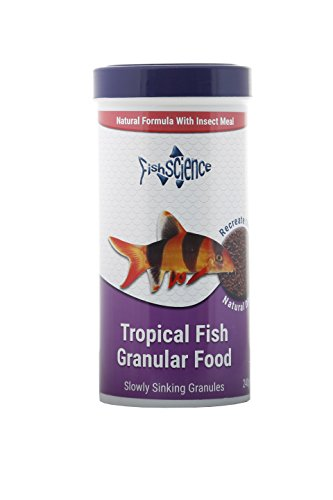 fishscience Tropical Granulat 240 g Fischfutter