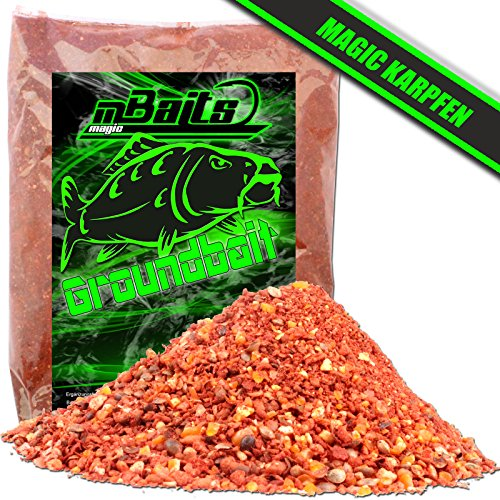 Angel Berger Magic Baits Groundbait Grundfutter Angelfutter Verschiedene Sorten Magic Karpfen 3Kg
