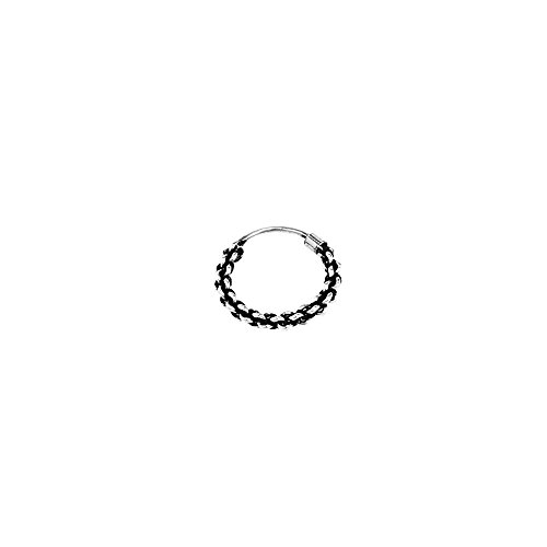 SINGLE 925 STERLING SILBER Gothic 12mm 7285