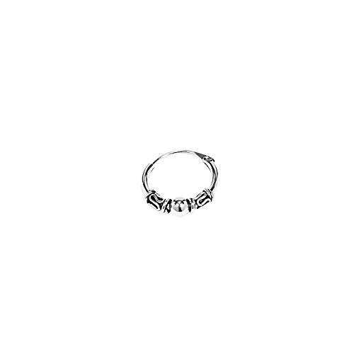 NKlaus SINGLE 925 STERLING SILBER Gothic 12mm 7226