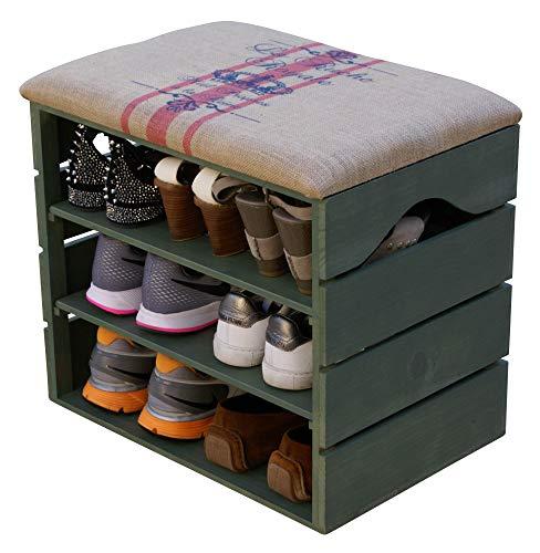 schuhregal aus holz g nstig kaufen. Black Bedroom Furniture Sets. Home Design Ideas