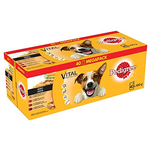 Pedigree Nassfutter Adult in Sauce 40 Portionsbeutel 40x 100g
