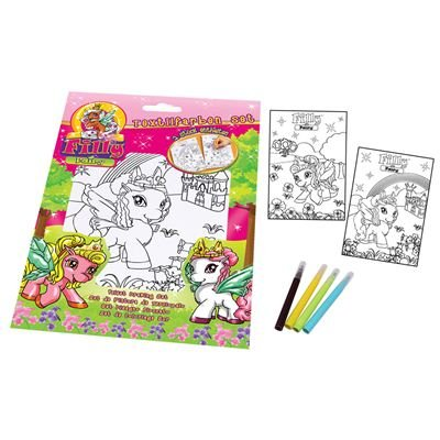 Dracco Candy DR04447 - Dracco Candy - Filly Textilfarben Set