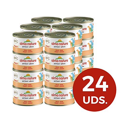 Almo Nature Classic Hundefutter Puppy mit Huhn (95 g)