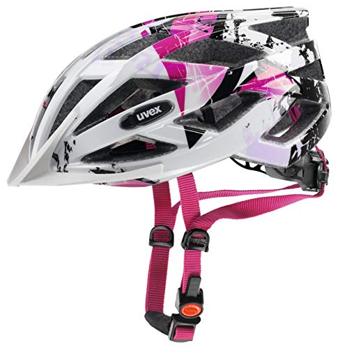 uvex Jugend air wing white pink 52 57