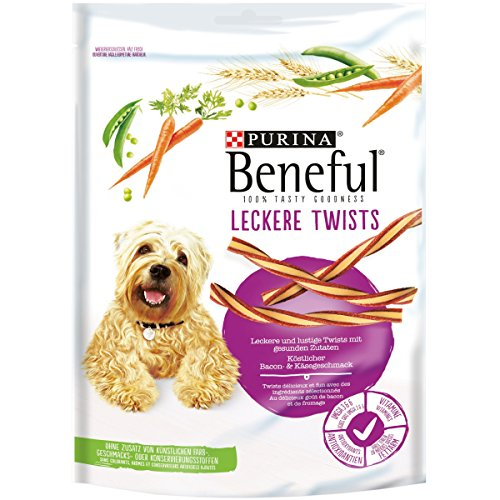 Leckere Twists Hundesnack 6er Pack 6x 175 g