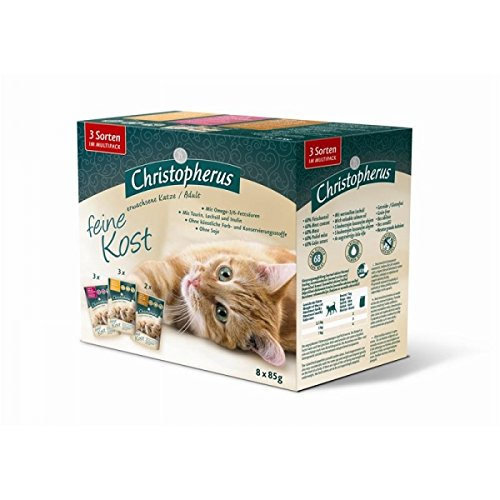 Christopherus Cat Portionsbeutel Multipack 8 x 85 g