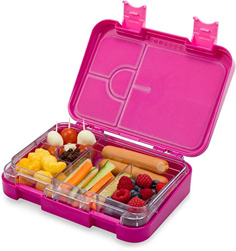 schmatzfatz junior Kinder Lunchbox Bento Box variablen Fächern Lila