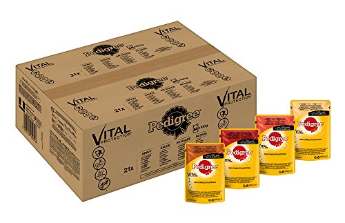 Pedigree Vital Protection mit 4 Sorten Fleisch in Sauce 84 Beutel 84x 100 g
