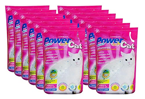 12x 5 l = 60L Powercat Magic Silikat
