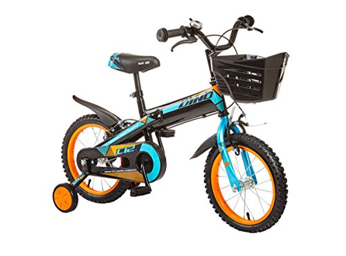 Kind Bike 14 Zoll Bike 4-8 Year Old Child Bike Safe Mode Fahrräder (Color : Blue)