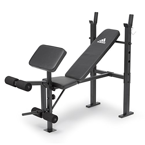 adidas Essential Workout Bench Trainingsbank, schwarz, One Size