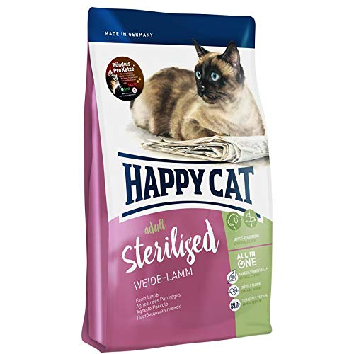 Happy Cat Supreme Sterilised Weide-Lamm 300 g
