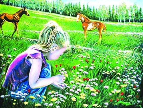 Fillies and Flowers   A 300 Piece Jigsaw By Sunsout by SunsOut