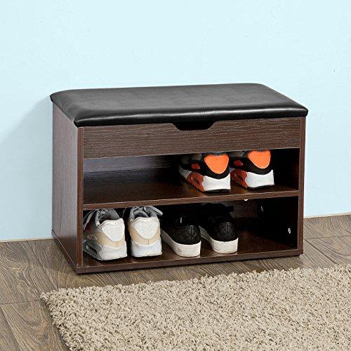 schuhregal mit sitzbank. Black Bedroom Furniture Sets. Home Design Ideas