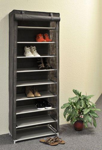 schuhregal mit stoffbezug g nstig kaufen. Black Bedroom Furniture Sets. Home Design Ideas