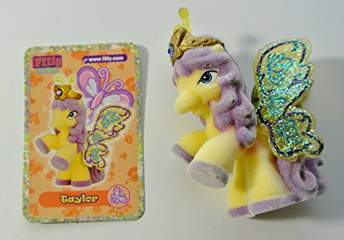 Filly Pferdchen Custom Set: Glitzer Butterfly - Taylor (Blumenturm)