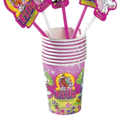 8 Fairy Party Einwegbecher Trinkbecher