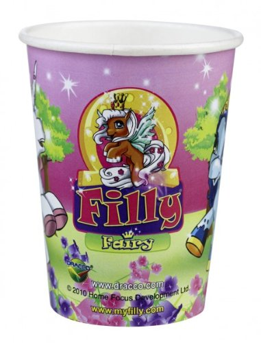 Party Becher: Trinkbecher mit dem Motiv »Filly Fairy«, 250 ml, 8er Pack