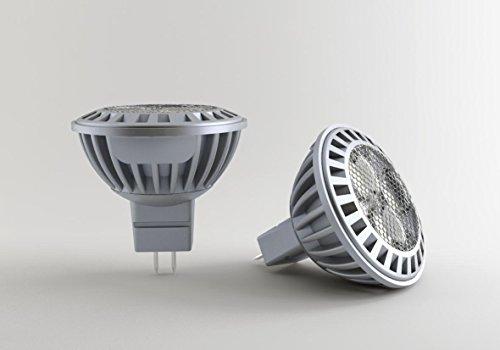 Led lamp gu dimbaar: led gu 5.3 mr16 6 w 350 lumen matt warmweiß