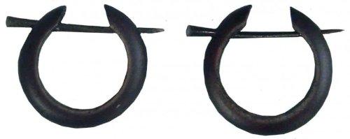 Ohrringe Aus Holz FUr Männer ~ 81stgeneration Sterling Silber 925 Holz Ohrringe baumeln Runde Brown