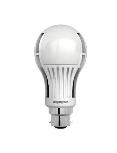 Brightgreen BR1000 B22d LED Lampe. 12,5W, Ersetzt Mind. 75 Watt