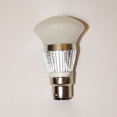 3W B22 AC200 240V LED Lamp, Frosted Mushroom Light Bulb, Dimmable (Trailing