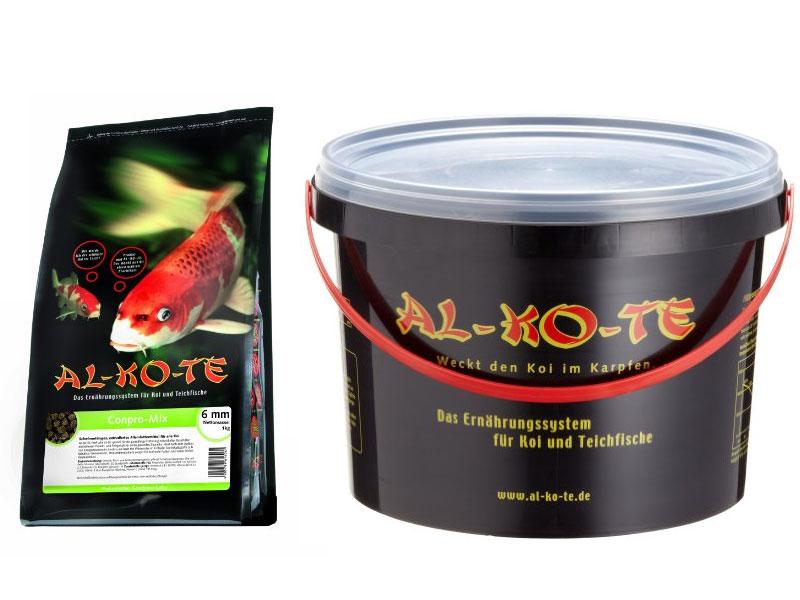 alkote koifutter mit viel rohprotein f r ihre teichfische. Black Bedroom Furniture Sets. Home Design Ideas